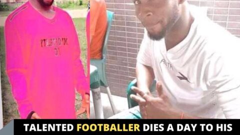 Talented footballer dies a day to his birthday due to gas explosion caused by phone torchlight