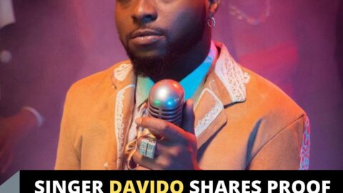 Singer Davido shares proof to show Nigeria is stressful
