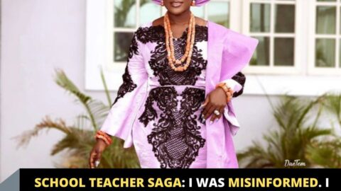 School Teacher Saga: I was misinformed. I didn't know what transpired before I got there — Actress Mercy Johnson's accuser