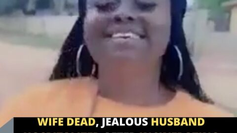 Wife dead, jealous husband hospitalized after incinerating them both in Lagos.