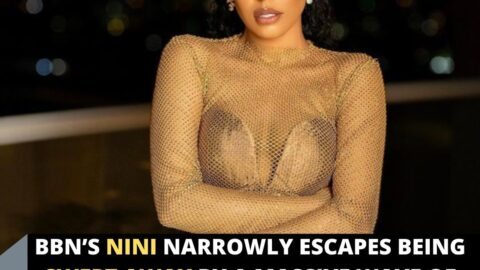 BBN's Nini narrowly escapes being swept away by a massive wave of gifts, from her fans of course