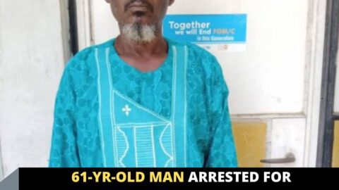 61-yr-old man arrested for deflowering and defiling a 15-yr-old girl for four years