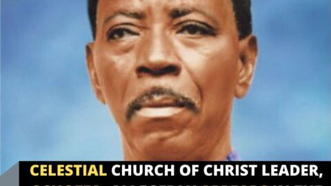 Celestial Church of Christ leader, Oshoffa, allegedly appears in the sky