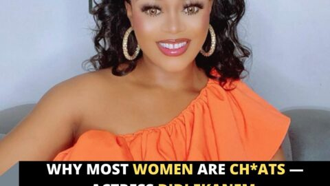 Why most women are ch*ats — Actress Didi Ekanem