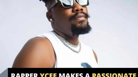 Rapper Ycee makes a passionate appeal to all and sundry