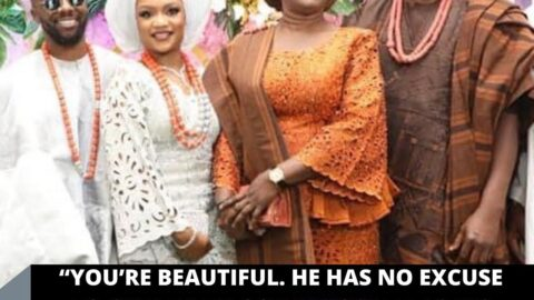 """""""You're beautiful. He has no excuse to cheat,"""" Ex-Gov Fayose tells his son's wife at their wedding"""
