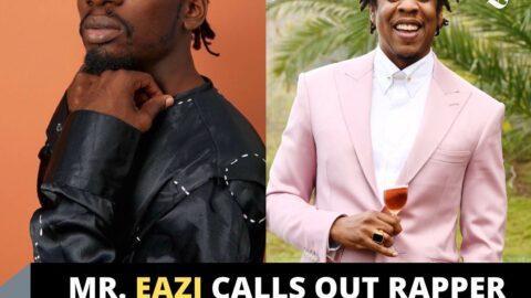 Singer Mr. Eazi calls out rapper Jay-Z